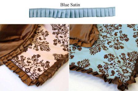 "Lily & Will Satin Trim - 1.25"" Blue-0"