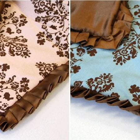 """Lily & Will Satin Trim - 1.25"""" Brown-0"""