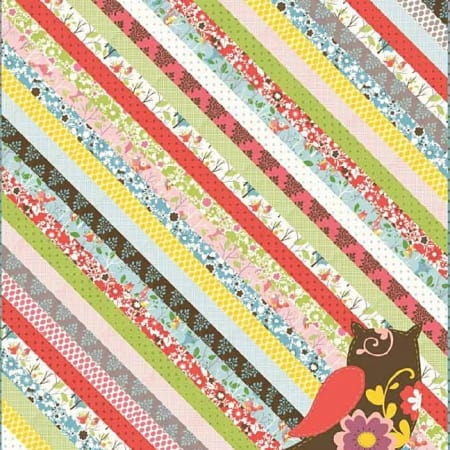 It's a Hoot Quilt Pattern-0