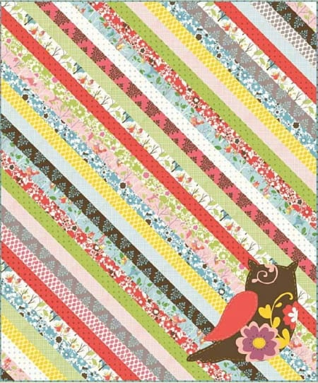 It's a Hoot Quilt Pattern-0