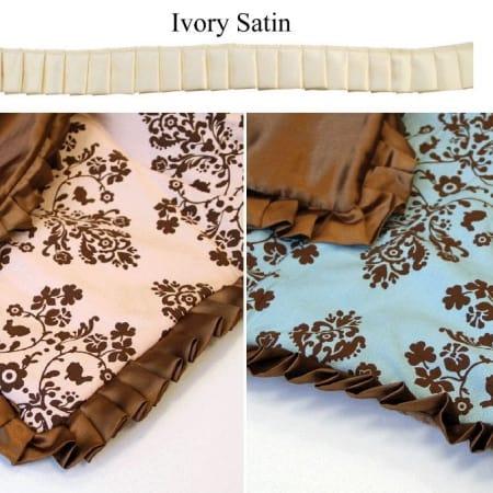 "Lily & Will Satin Trim - 1.25"" Ivory-0"