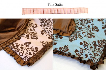 "Lily & Will Satin Trim - 1.25"" Pink-0"