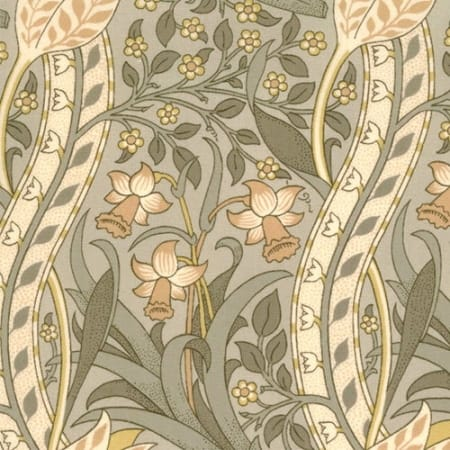 A Morris Tapestry - 8177 17 - Green-0