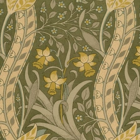 A Morris Tapestry - 8177 16 - Taupe-0
