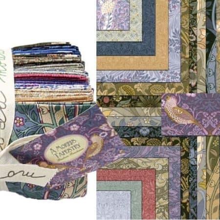 A Morris Tapestry Fat Eighth Bundle-0
