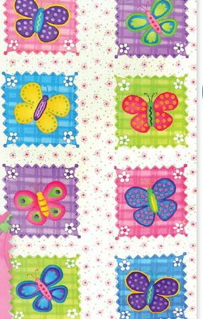 Butterfly Fling Blocks Fabric Panel-0