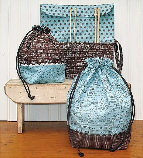 Sticks Stuff Bags Needle Case Patterns 0