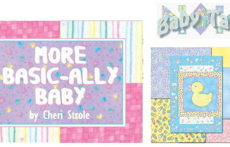 "Baby Talk Basically Baby FLANNEL 5"" Charm Pack-0"