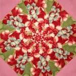 Maison de Noel Kaleidoscope Quilt Kit -0