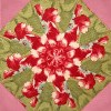 Maison de Noel Kaleidoscope Quilt Kit -6558