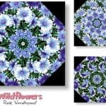 Wildflowers Kaleidoscope Quilt Kit -0