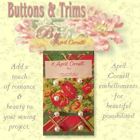 April Cornell Buttons - Pearl-0