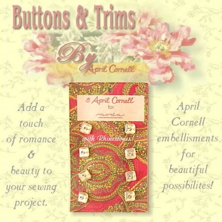 April Cornell Buttons - Pearl Square-0