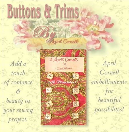 April Cornell Buttons - Pearl Square-0