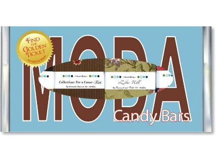 CANDY BARS Moda Dark Chocolate - Box 1 - Limited Edition-0