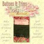 Crocheted Trim - Green-0