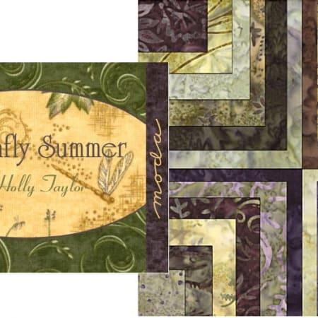 Dragonfly Summer Batiks Fat Eighth Bundle-0
