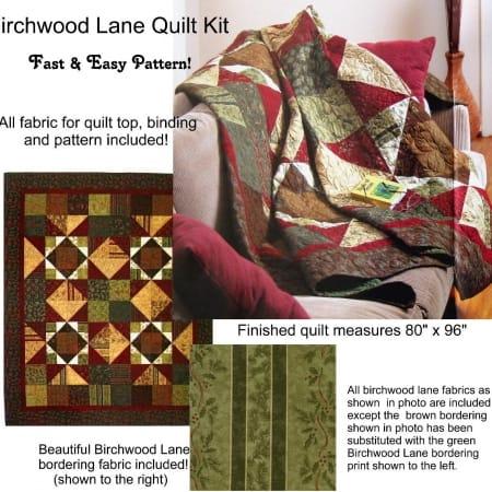 Birchwood Lane Quilt Kit-0