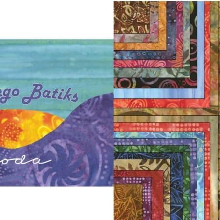 Montego Batiks Fat Eighth Bundle-0