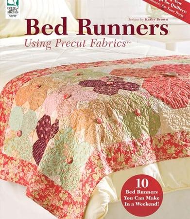 Bed Runners Using Precut Fabrics Book-0