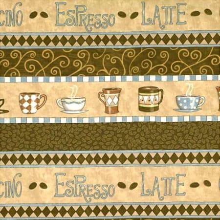Bistro - 19241 11 - Border Stripe Latte-0