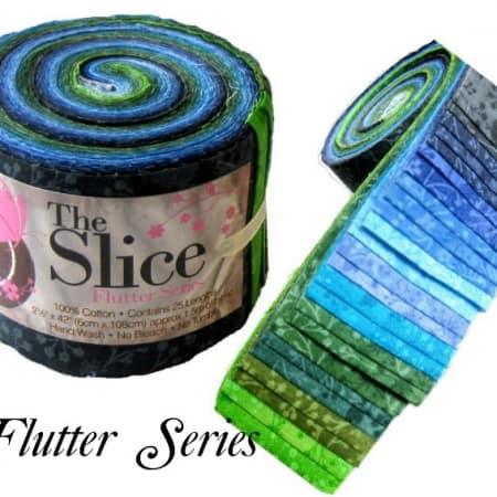 Slice Fabric Roll - Flutter Aqua Blenders-0