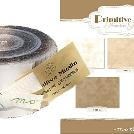 Primitive Muslin Moda Jelly Roll-0