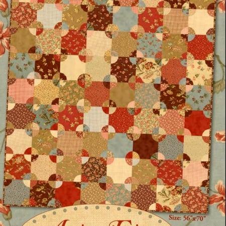 Antique Fair Quilt Pattern-0