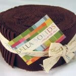 Bella Solids - Brown Moda Jelly Roll-0