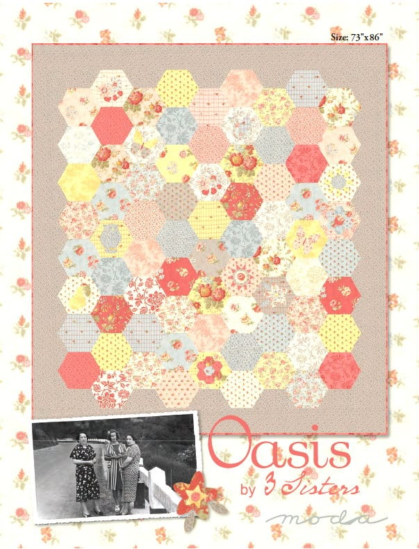 Oasis Quilt Pattern