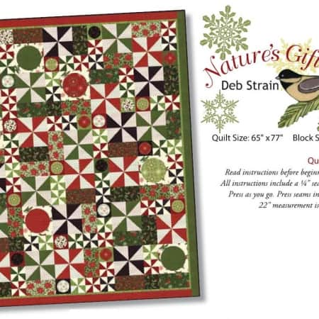 Nature's Gift Quilt Pattern-0