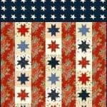 Flag of Valor Quilt Pattern-0