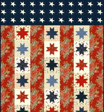 Flag of Valor Quilt Pattern-0