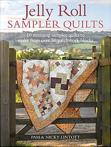 Jelly Roll Sampler Quilts - Book-0