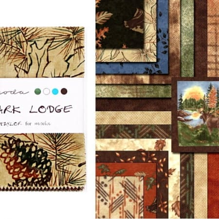 "Birch Bark Lodge 5"" Charm Pack-0"