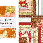 """Butterscotch and Roses 5"""" Charm Pack-0"""