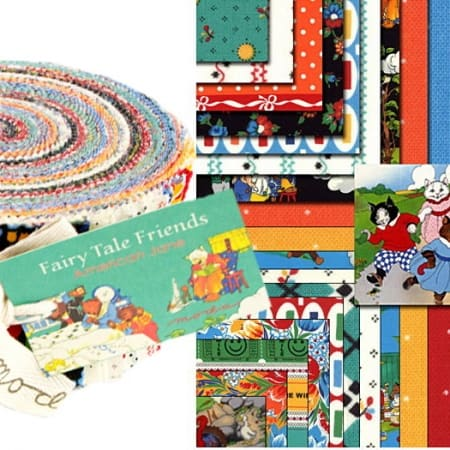 Fairy Tale Friends Moda Jelly Roll-0