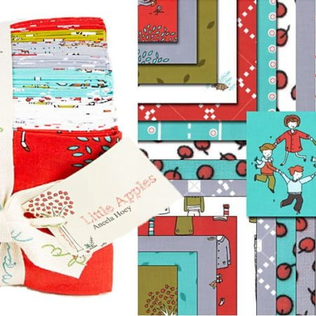 Little Apples Fat Quarter Bundle -0