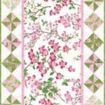Dogwood Trail Table Runner Pattern-0