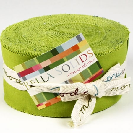 Bella Solids - Chartre Moda Jelly Roll-0