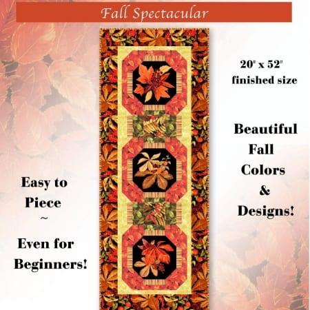 Fall Spectacular Table Runner Kit-0
