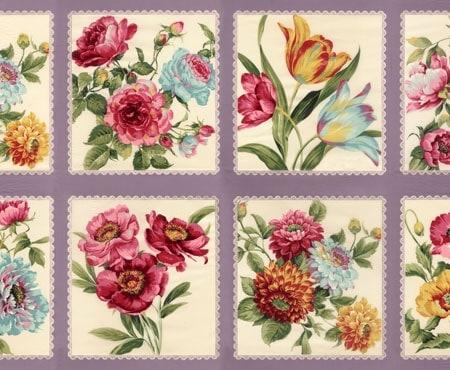 Felicity Fabric Panel - Lavender-0