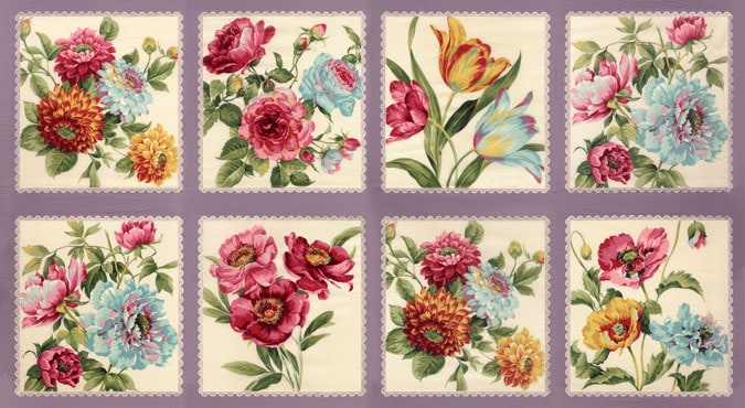 Felicity Fabric Panel - Lavender-0