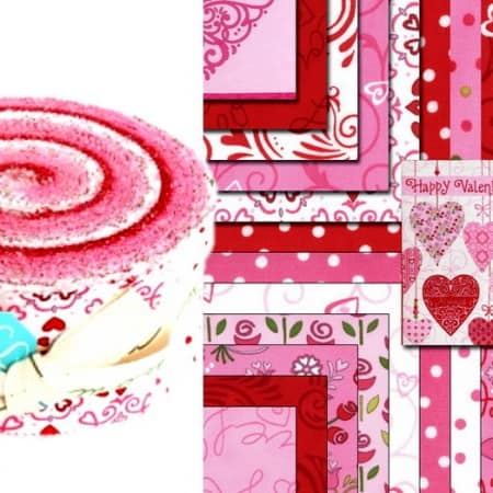 Always and Forever Moda Jelly Roll-0