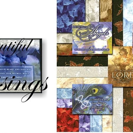 "Beautiful Blessings 5"" Charm Pack-0"