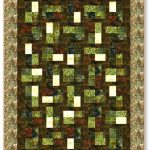 Birch Bark Lodge Quilt Pattern-0