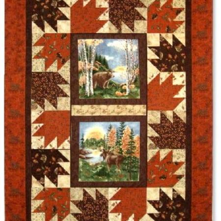 Birch Bark Lodge Quilt Kit #1-0