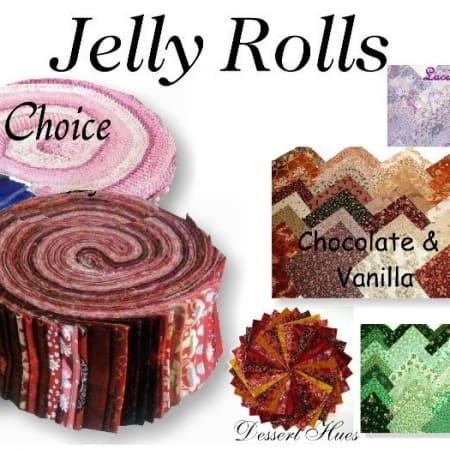 Basic Colors - PRINTS Jelly Rolls-0