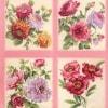 Felicity Fabric Panel - Rose-11616
