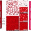 Always and Forever Fabric Panel Pink-11566
